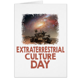 14th February - Extraterrestrial Culture Day Card
