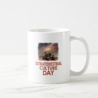 14th February - Extraterrestrial Culture Day Coffee Mug