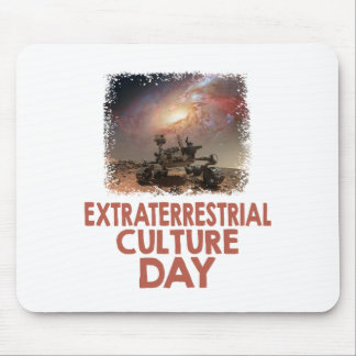 14th February - Extraterrestrial Culture Day Mouse Pad