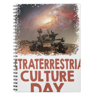 14th February - Extraterrestrial Culture Day Spiral Notebook