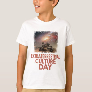 14th February - Extraterrestrial Culture Day T-Shirt