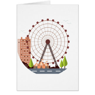 14th February - Ferris Wheel Day Card