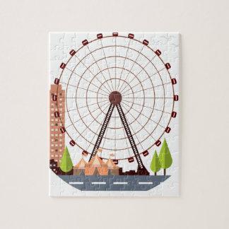 14th February - Ferris Wheel Day Jigsaw Puzzle