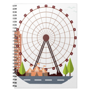 14th February - Ferris Wheel Day Note Book