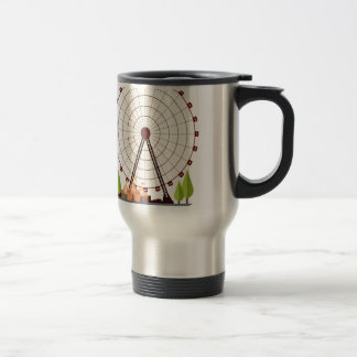 14th February - Ferris Wheel Day Travel Mug