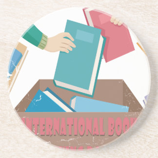 14th February - International Book Giving Day Coaster