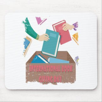 14th February - International Book Giving Day Mouse Pad
