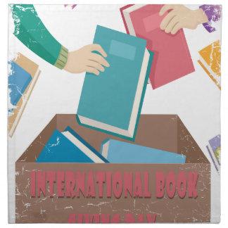 14th February - International Book Giving Day Napkin