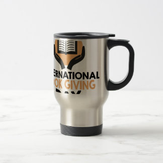 14th February - International Book Giving Day Travel Mug