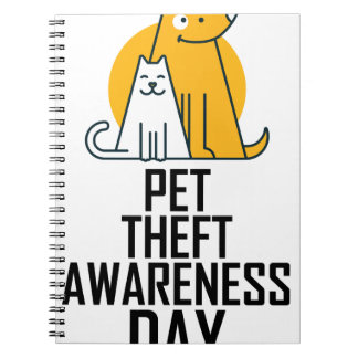 14th February - Pet Theft Awareness Day Notebooks