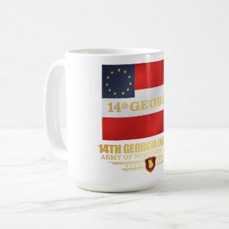 14th Georgia Infantry Coffee Mug
