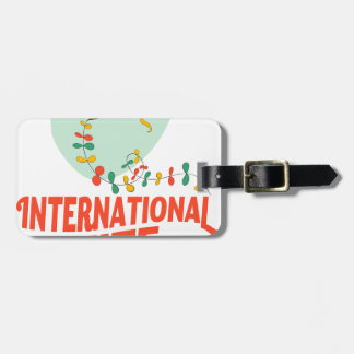 14th January - International Kite Day Luggage Tag