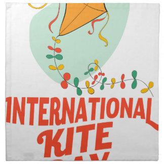 14th January - International Kite Day Napkin