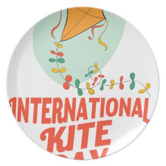 14th January - International Kite Day Plate