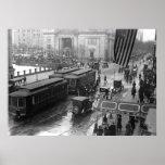 14th Street, Washington, D.C.: 1918 Posters