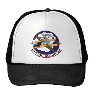 14th TACTICAL RECON SQUADRON LINEBACKER II 4.5 Trucker Hats