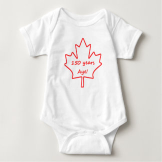 150 years of Canada Baby Bodysuit
