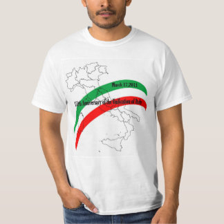 150th Anniversary of the Unification of Italy T Shirt