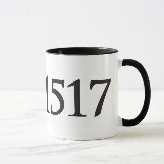 1517 Black 11 oz Ringer Mug
