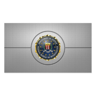 [154] FBI Special Edition Pack Of Standard Business Cards