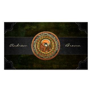 [154] Treasure Trove: Egyptian Sun God Ra Business Card Templates