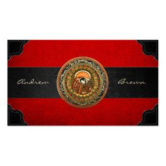 [154] Treasure Trove: Egyptian Sun God Ra Business Card