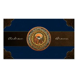 [154] Treasure Trove: Egyptian Sun God Ra Business Card Template