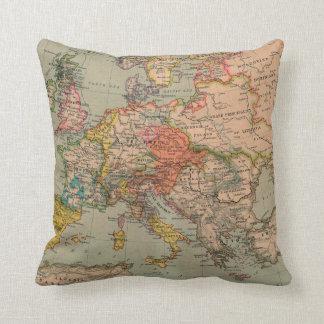 1560 Europe - Throw Pillow Cushions