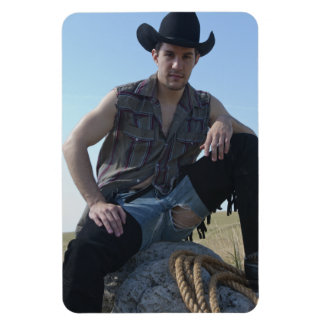 15631-RA Cowboy Magnet