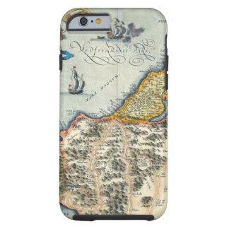 1570 Palestinae Hondius - Vintage Map Tough iPhone 6 Case