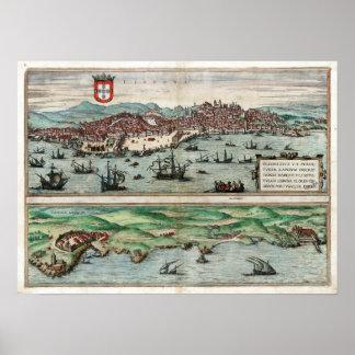 1572 Lisbon Poster