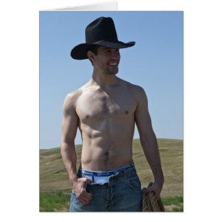 15746-RA Cowboy Card