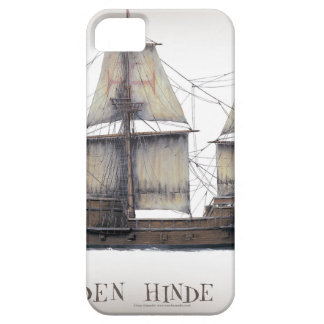 1578 Golden Hinde Barely There iPhone 5 Case