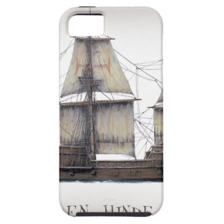 1578 Golden Hinde Case For The iPhone 5