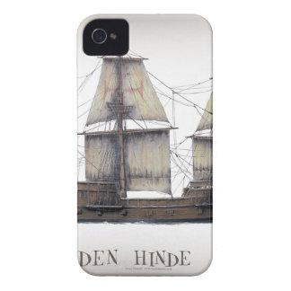 1578 Golden Hinde Case-Mate iPhone 4 Case