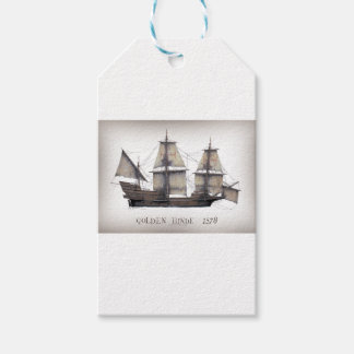 1578 Golden Hinde Gift Tags