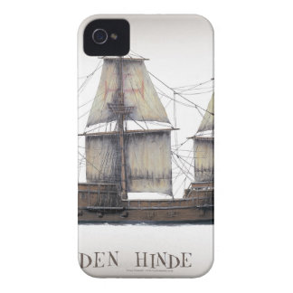 1578 Golden Hinde ship iPhone 4 Case-Mate Case