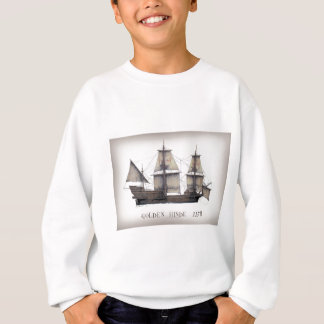 1578 Golden Hinde ship Sweatshirt