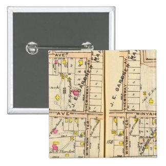 158159 New Rochelle 15 Cm Square Badge