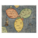 1581 - Bunting  World CloverLeaf Print