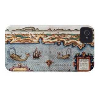 1586 Bay of Biscay Case-Mate iPhone 4 Cases