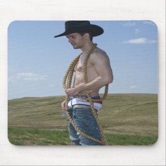 15876-RA Cowboy Mouse Pads