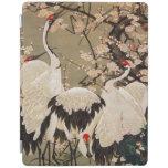 15. 梅花群鶴図, 若冲 Plum Blossoms & Cranes, Jakuchū iPad Cover