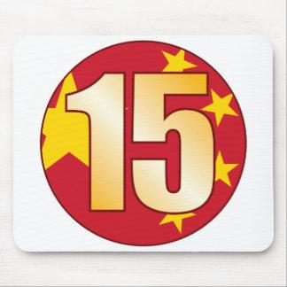 15 CHINA Gold Mouse Pad