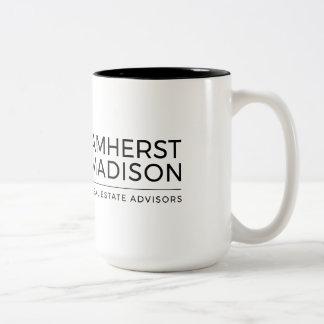 15 oz Amherst Madison Two Tone Mug