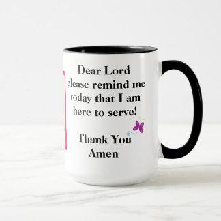 15 oz Combo Custom Prayer Mug By ZAZZ_IT