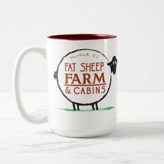 15 oz Fat Sheep Farm Coffee Mug