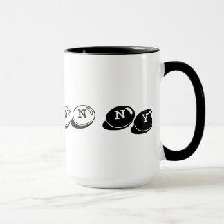 15 oz. Hudson, NY Ringer Mug