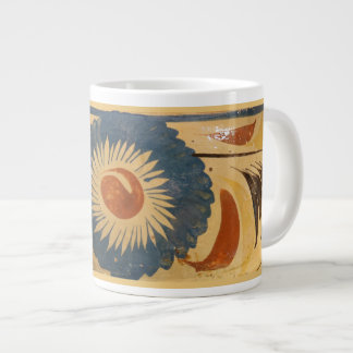 15 oz Mug with vintage Mexican pottery image