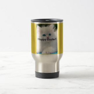 15 Oz Stainless Steel Travel Mug Yellow